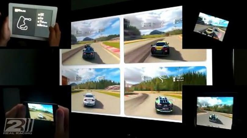Real Racing 2 shows off iPhone 4S' graphical chops, brings split screen gaming to iOS (video)