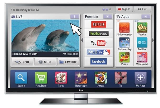 LG Smart TV goes on the charm offensive, appeals to Adobe developers