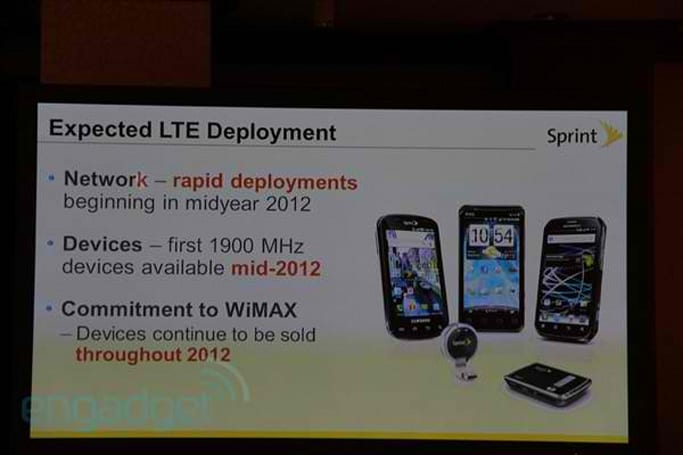 The cost of switching to LTE: Sprint to spend $10 billion over the next two years