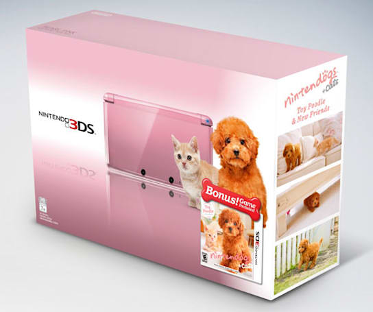 Nintendo looks to keep you warm, bundled even, with two more 3DS packages