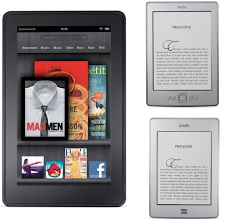 Kindle family goes retail, coming to a store near you on November 15th