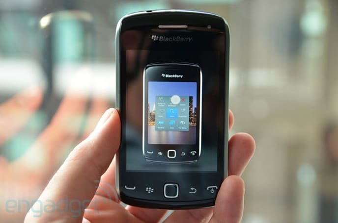 BlackBerry Curve 9380 hands-on (video)