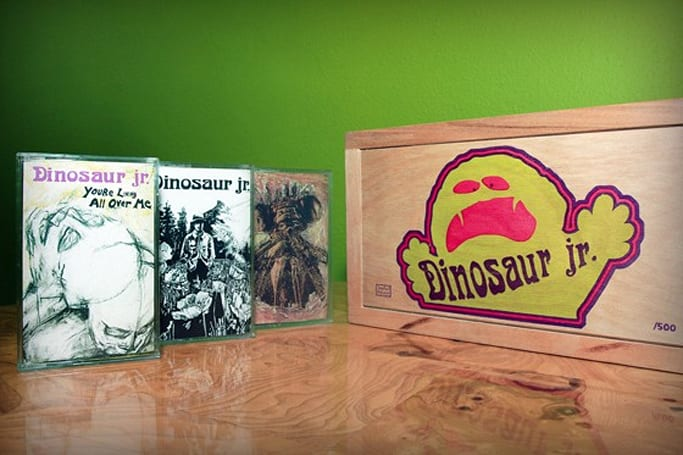 Dinosaur Jr. reissuing first three albums on cassette, harnessing the latest jurassic technology