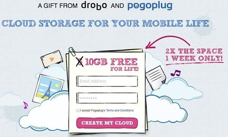 Pogoplug lets Drobo into its Cloud, offers 10GB of 'public' storage to sweeten the deal