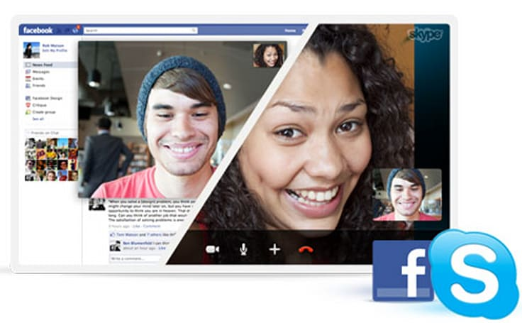 Skype Beta for Mac and Windows adds Facebook-to-Facebook calling, monitor tans to get even darker