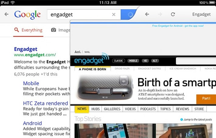 Google's iOS search app gets a major overhaul, brings instant goodies to iPad users