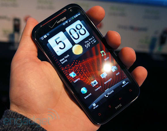 HTC Rezound hands-on (video)