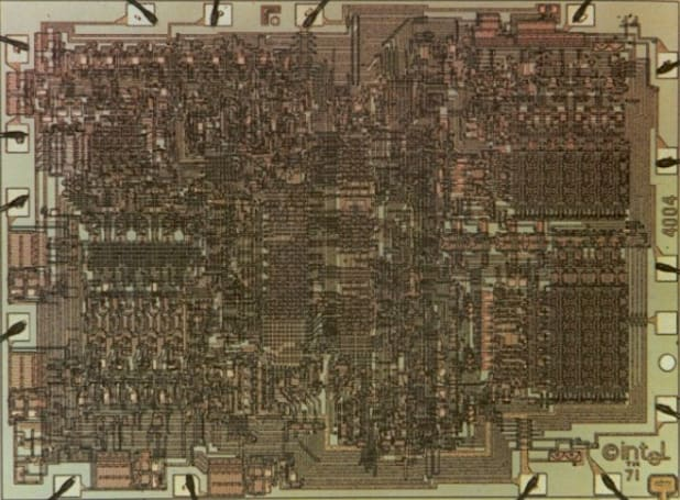 Intel 4004, world's first commercial microprocessor, celebrates 40th birthday, ages gracefully