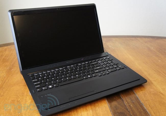 Sony VAIO F Series review (late 2011)