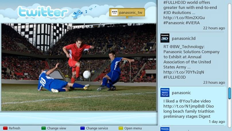 Panasonic's new Social TV app puts Twitter and Facebook next to your TV shows