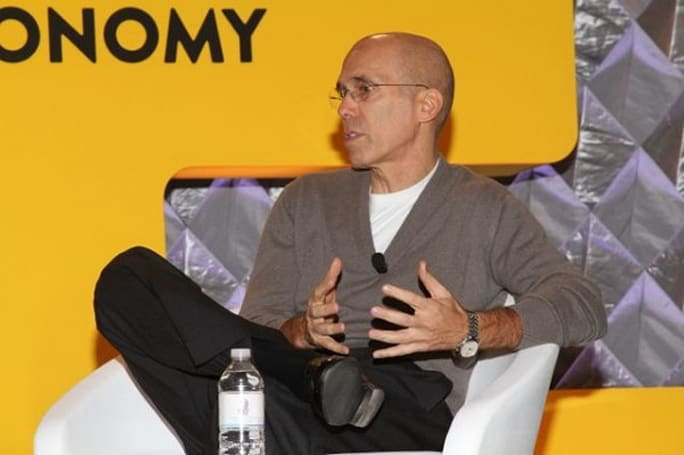 DreamWorks CEO envisions an internet with more animation, fewer words