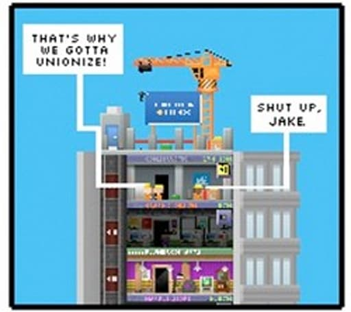 Tiny Tower breaks ground on Android