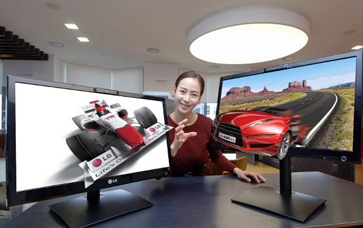 LG updates eye-tracking, glasses-free 3D displays, learns to love the hyphen