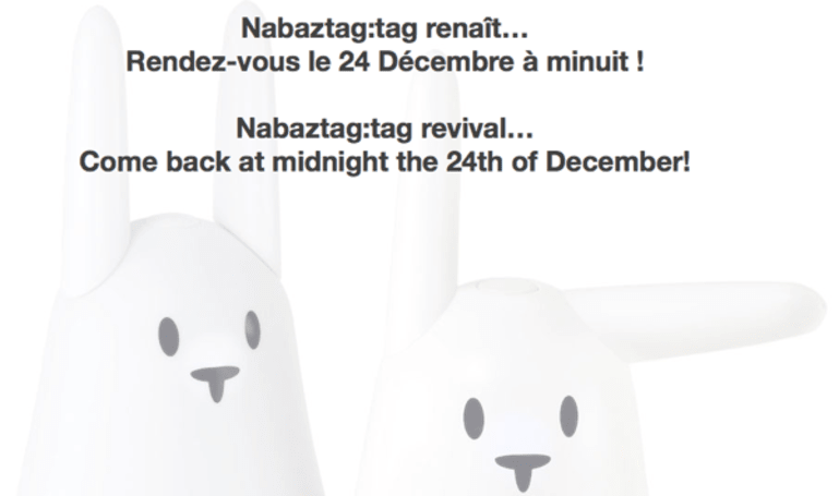 Nabaztag robotic rabbits rise from the ashes at midnight