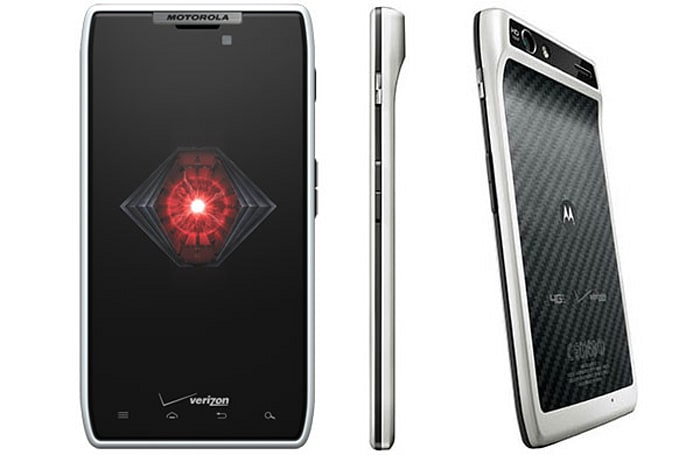 White Droid RAZR available now on Verizon for $299 on contract