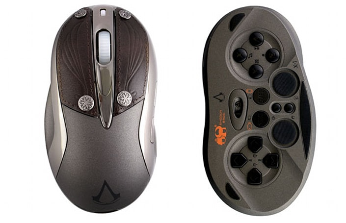 Shogun Bros. Chameleon X-1 mouse dons assassin style, sneaks into CES