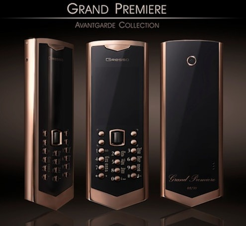 Gresso's Grand Premiere: an Avantgarde phone with a behind-the-times OS and a $50,000 price tag