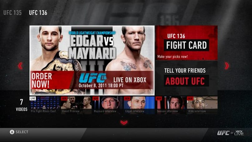 Microsoft rolls out more new Xbox 360 apps including UFC and Vudu