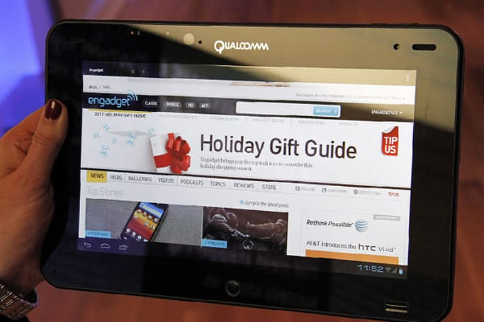 Qualcomm loads Ice Cream Sandwich on Snapdragon S4 tablet, fills our hearts with Liquid