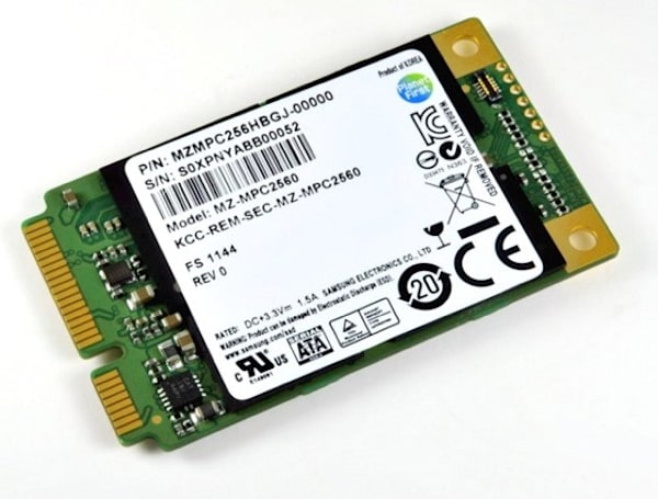Samsung's mSATA PM830 is eight grams of pure SSD