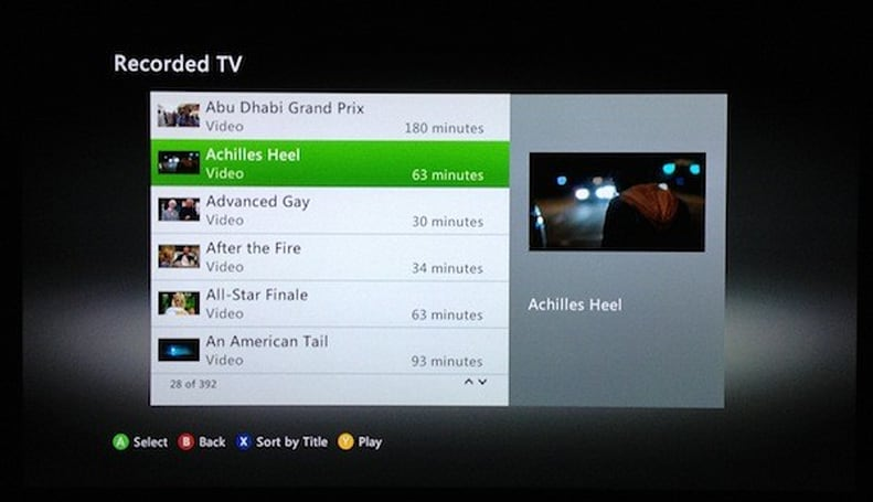 Fall Xbox 360 Dashboard update brings WTV file support, but don't get too excited
