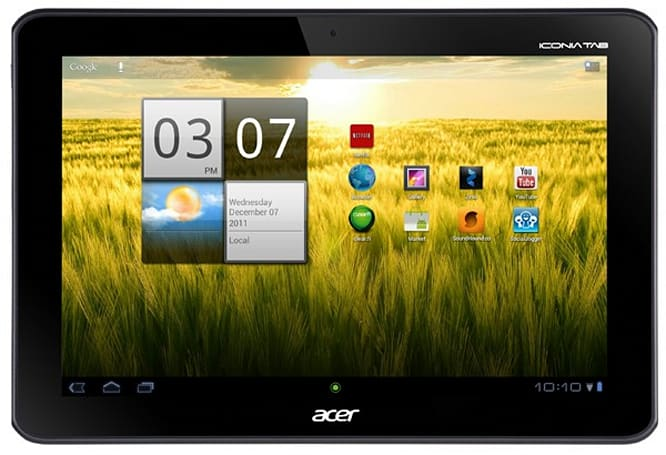 Acer Iconia Tab A200 arriving January 15 for $330, Ice Cream Sandwich coming mid-February