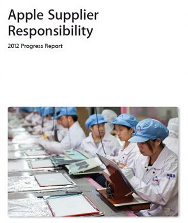 Apple wants to be responsible, progress report details changes to worker conditions and environmental practices