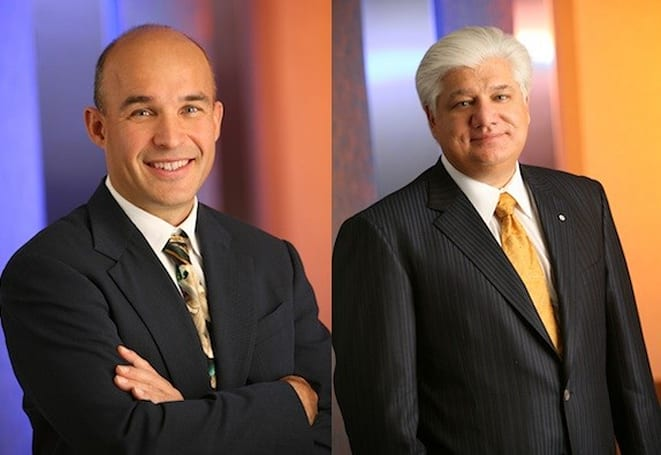 Financial Post report suggests RIM's Balsillie and Lazaridis may be out as chairmen of the board
