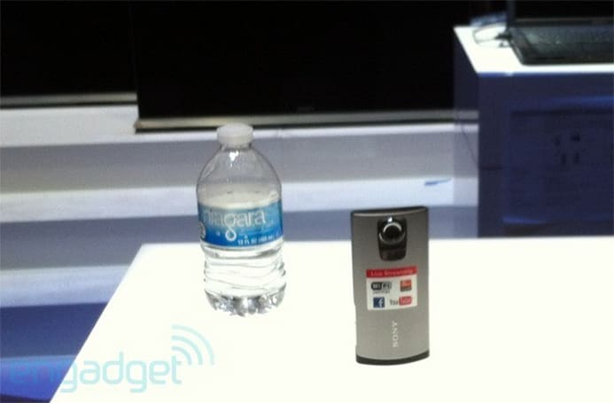 Sony Bloggie on the CES show floor?