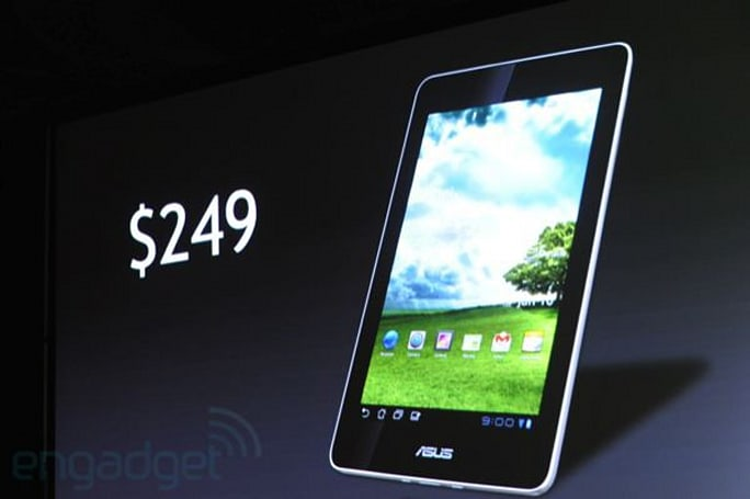 NVIDIA and ASUS tease 7-inch Tegra 3 tablet with ICS and $249 price tag