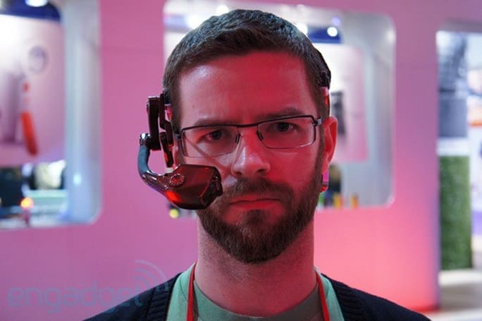 Hands-off with the Golden-i head-mounted computer