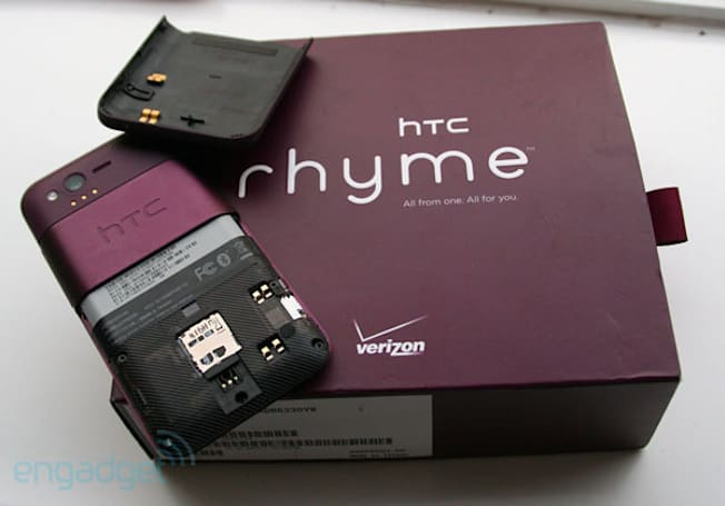How would you change HTC's Rhyme?