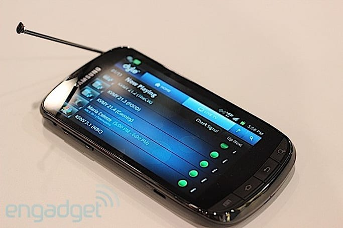 Hands-on with Dyle Mobile TV, broadcasting live to a handset near you (video)