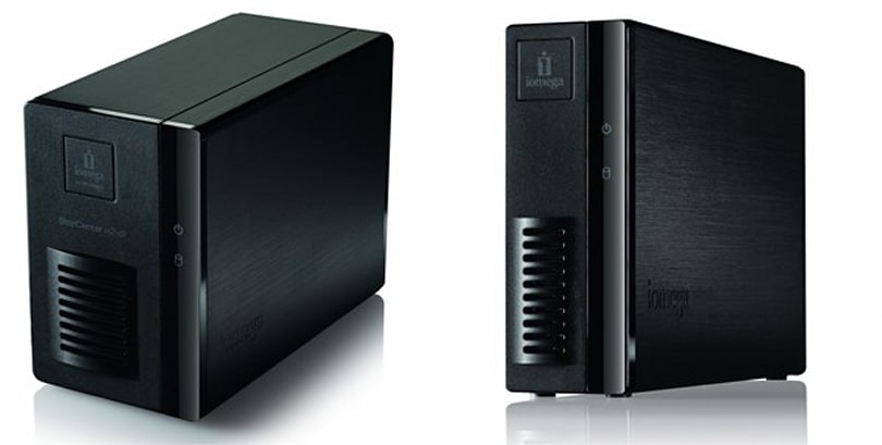 Iomega StorCenter ix2 and EZ Media and Backup Center fill your lives with terabytes