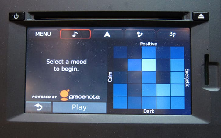 Hands-on with Gracenote's automotive-grade MoodGrid