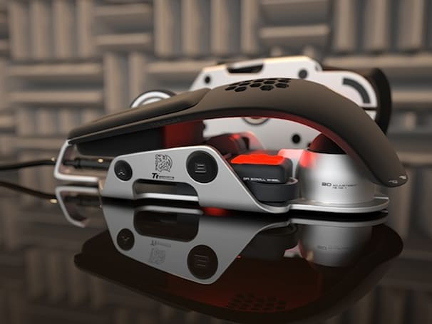 BMW's DesignworksUSA, Thermaltake reveal Level 10 M gaming mouse concept