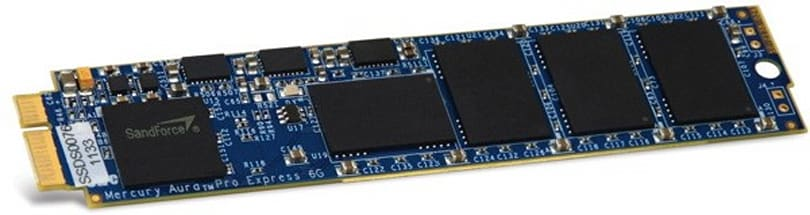 OWC Mercury Aura Pro Express SATA 3.0 SSDs doubles your (MacBook) Airspeed velocity