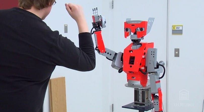 Canadian researchers aim to build a more life-like robot, one piece at a time