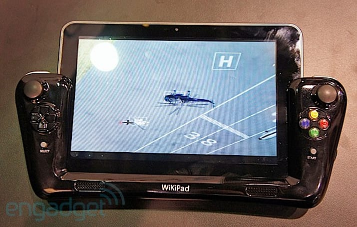 WikiPad prototype hits CES 2012, does exist