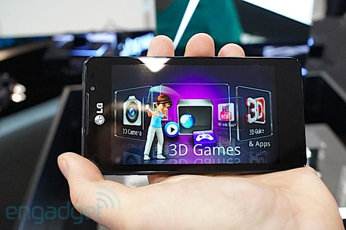 LG Optimus 3D Max launches in Europe, won't be coming to the UK