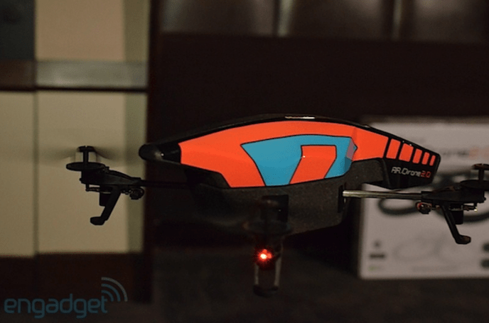Parrot AR.Drone 2.0 ready for May takeoff, pre-orders start March 1st