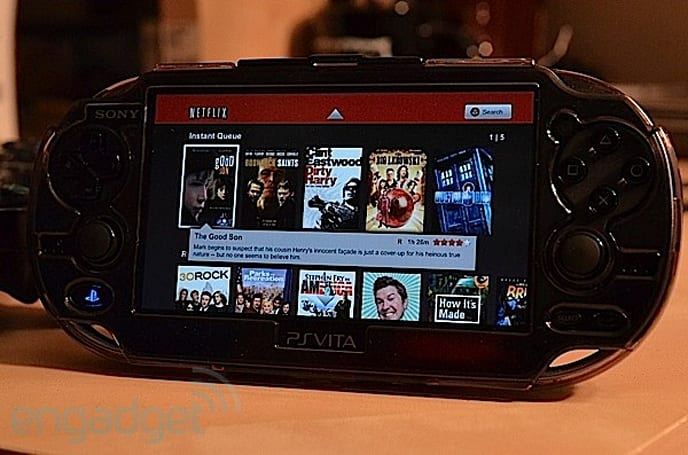 'Select' PS Vita apps hit the US PlayStation Store: Netflix, LiveTweet and Flickr (Update: video hands-on)