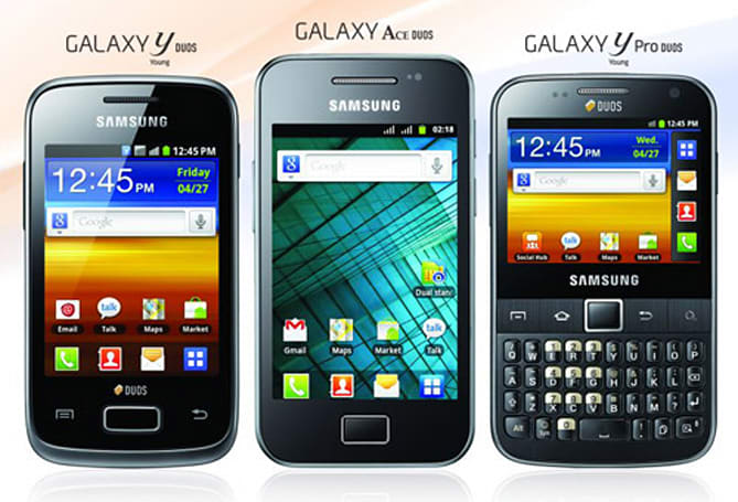 Samsung intros trifecta of Galaxy Duos in India, new Ace included