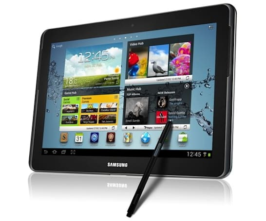 Samsung announces Galaxy Note 10.1 at MWC (update: hands-on photos!)