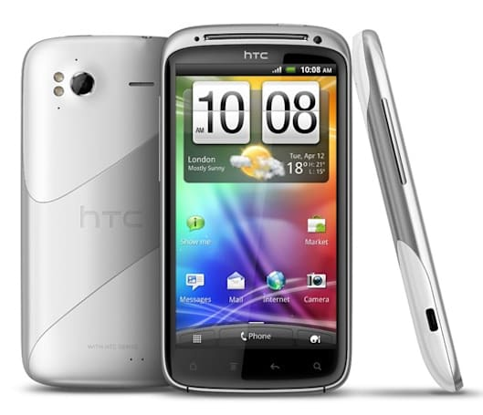 HTC Sensation puts on a white coat to match its Ice Cream Sandwich innards (updated)