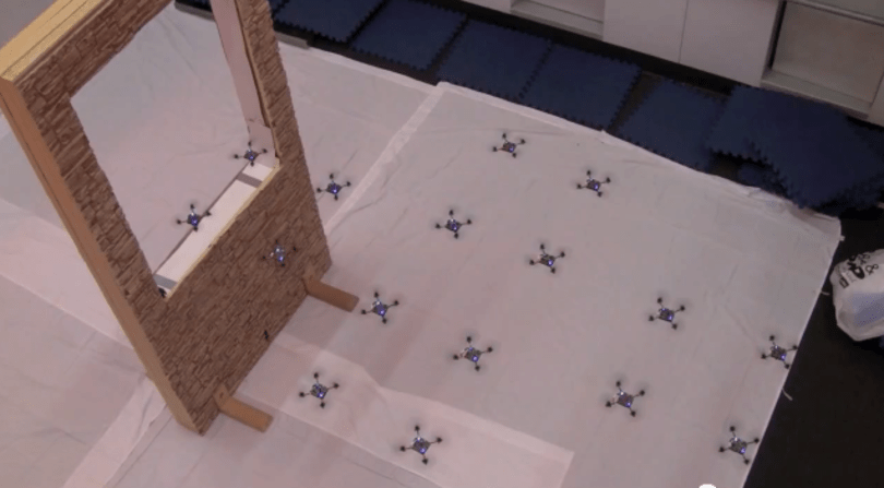 Acrobatic quadrocopters hunt in packs, seduce you into submission (video)