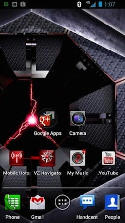 Droid RAZR ICS screenshots leaked, could this be the next Blur?