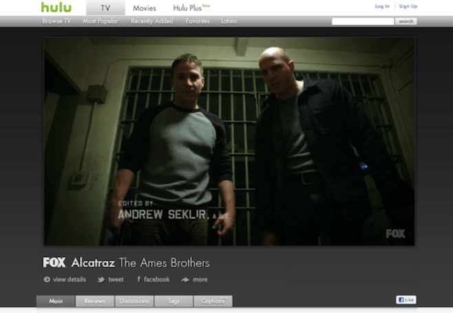 Hulu video player gets a 'big picture' update, now 55 percent larger
