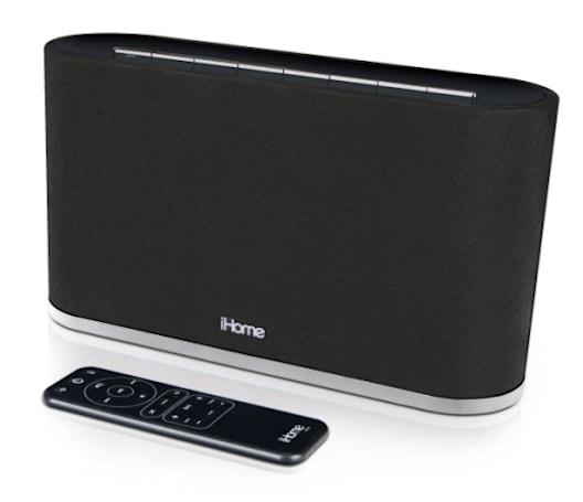 iHome's iW2 AirPlay speaker to begin shipping this April, for $200