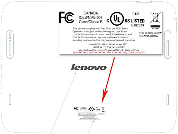 Lenovo IdeaTab S2109 teased by FCC, launching with 9.7-inch display this month?